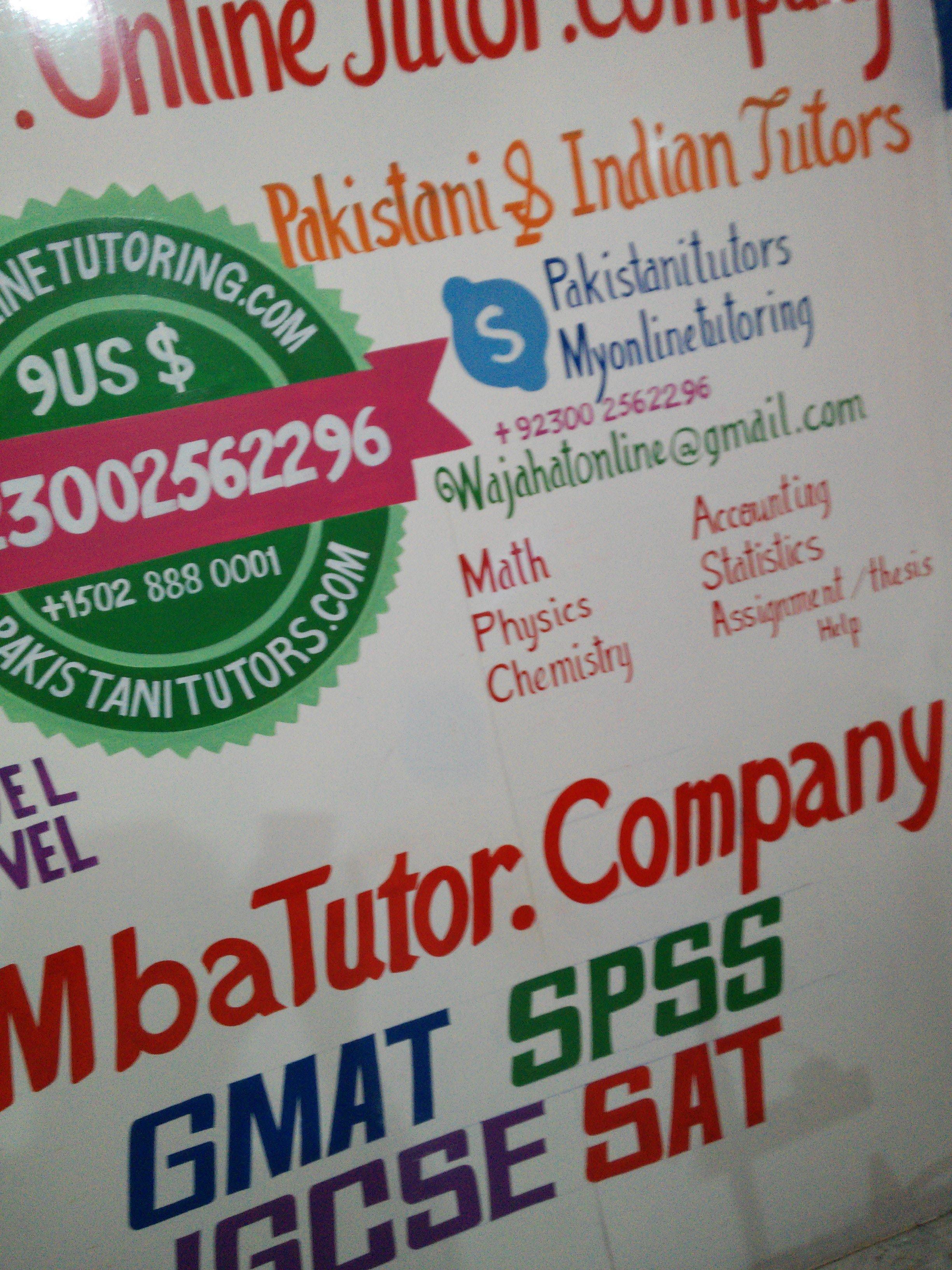 online dissertation help tutor